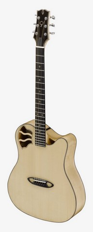 Guitare folks AMELIE B Ghirotto luthier