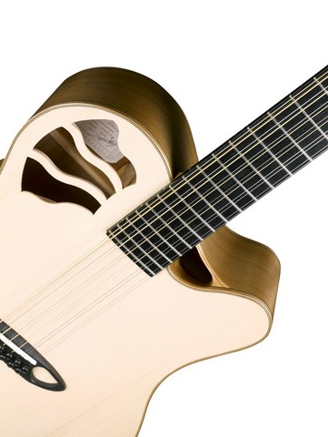 Guitare folks AMELIE B12 Ghirotto luthier