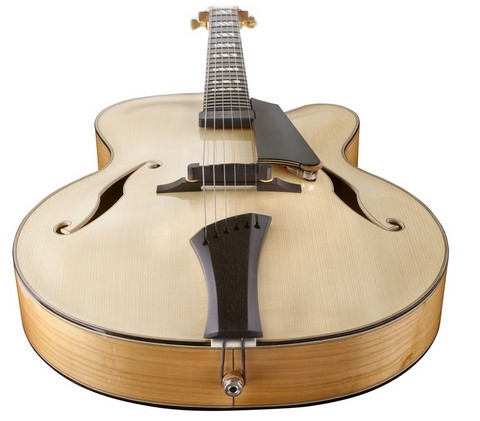 Guitare jazz Mary Ghirotto Luthier
